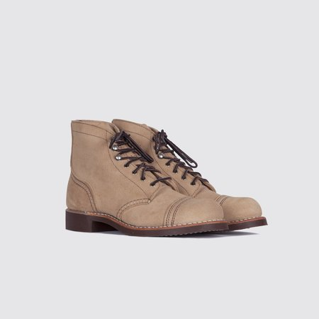 Red Wing Shoes 3368 Iron Ranger Boots - Sand Mohave