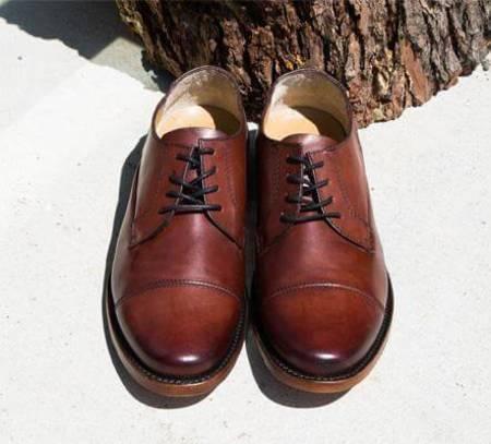 Sutro Footwear Larkin II Oxford - Redwood