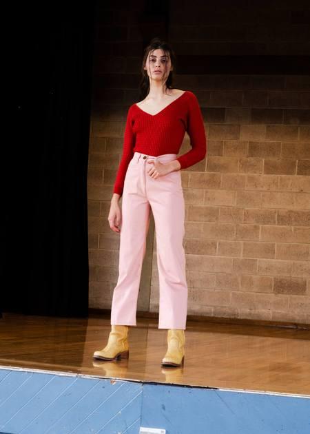 Penny Sage Claude jean - PINK