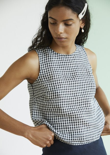 hej hej Did I Stutter - Black Gingham