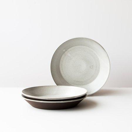 A + J Set of 3 Métissage Ceramic Pie Plates