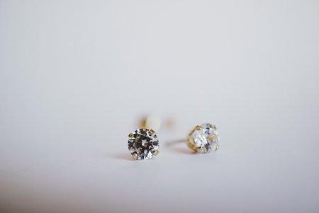 Foe and dear .50ct Baby Diamond Earrings