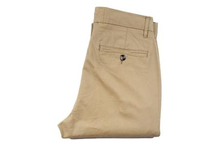 Milworks Stretch Chino - Stone