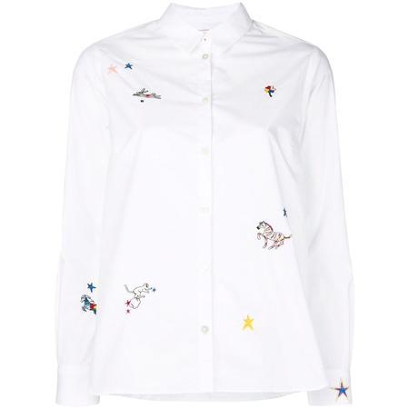 Chinti and Parker Circus Shirt - White