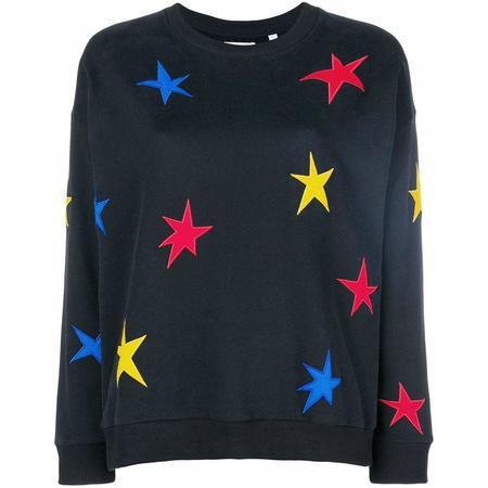 Chinti and Parker Star Sweatshirt - Navy