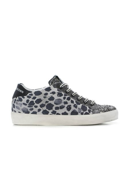 Leather Crown Leo Classic Low Top Sneaker - Wild Leo