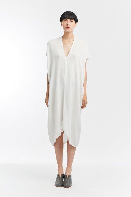 Miranda Bennett Rayon Everyday Dress - White