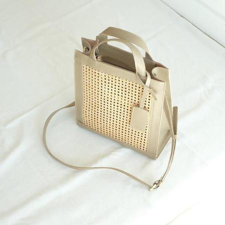 INNÉ Studios Sia Two-Way Tote - Taupe
