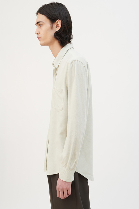 Our Legacy Classic Silk Shirt - Translucent Pistachio