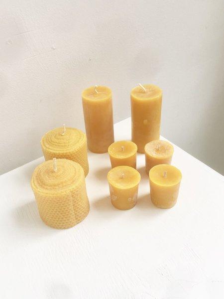 Cuttalossa Beeswax Bundle Candle
