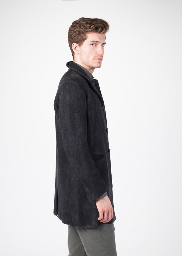 Men's Avant Toi Painted Knit Coat