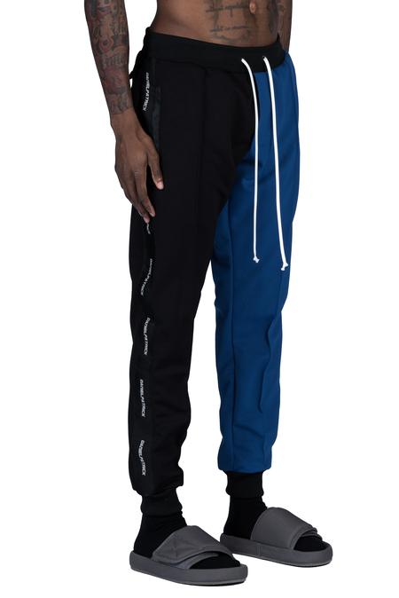 Daniel Patrick 50/50 Track Pant - Black