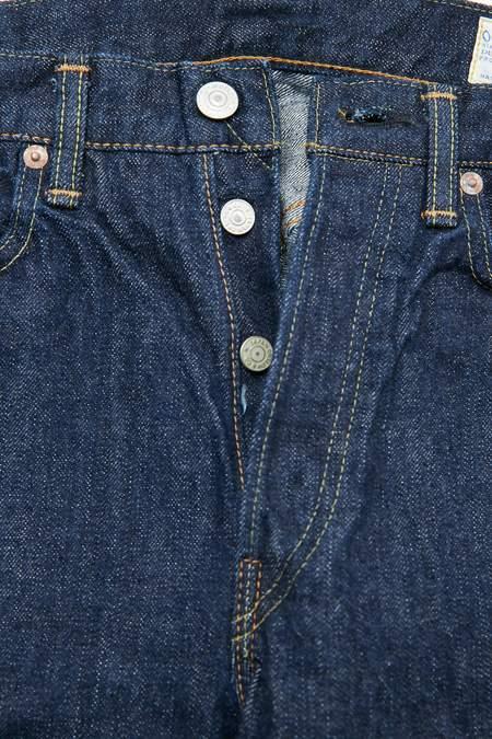 orSlow 105 Standard Fit Jean - One Wash