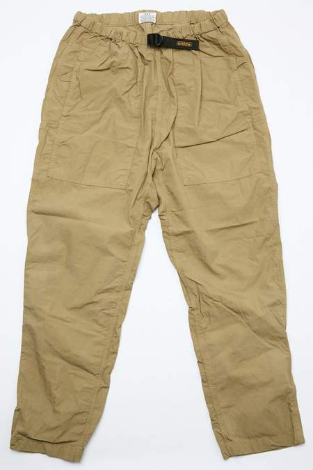 OrSlow Climbing Pants - Gold Brown