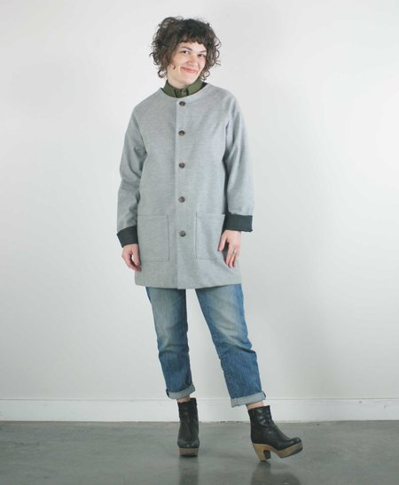 Unisex Atelier B. Jacket - Grey Marl