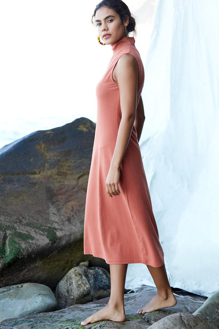 Callahan Beck Dress - Sandstone