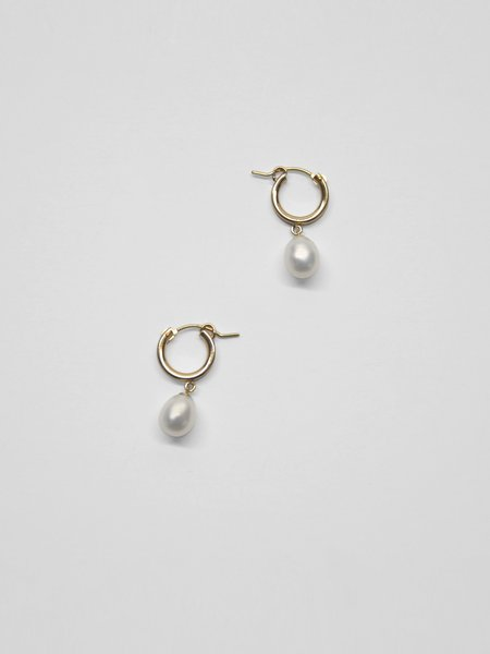IGWT Pippa Drop Hoops  - Gold