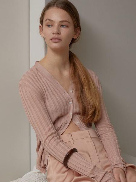 H8 Stella Silk Knit Cardigan - Vintage Pink