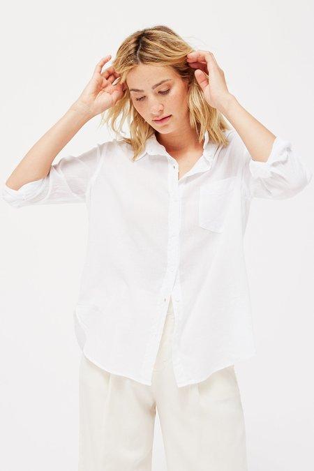 Lacausa Super Fine Nash Button Up shirt - Whitewash