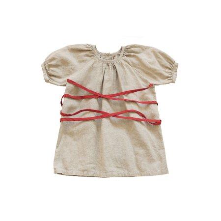 Kids Tambere Tie Dress - Mint Gray