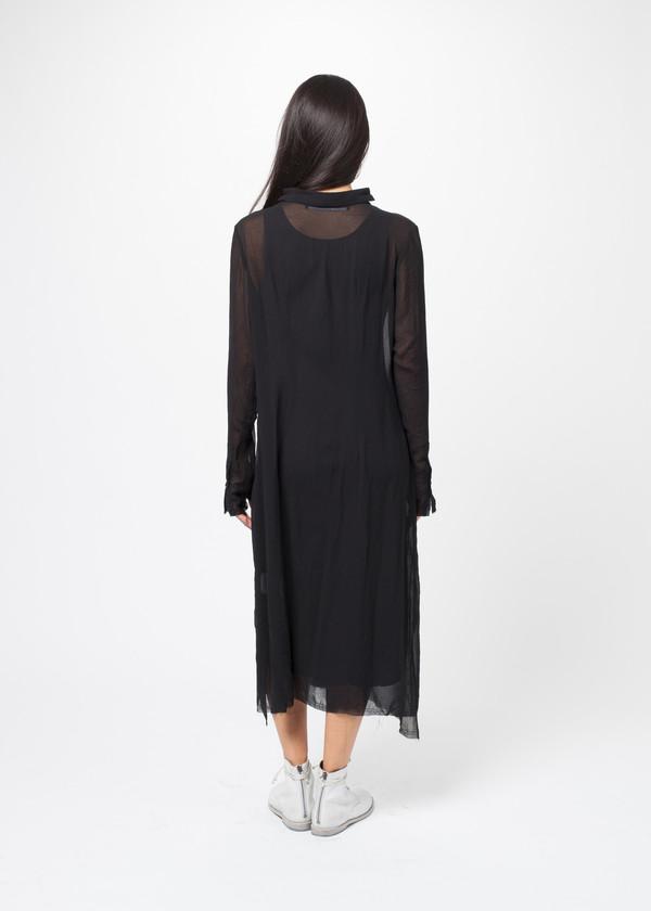 Sheer Button Dress
