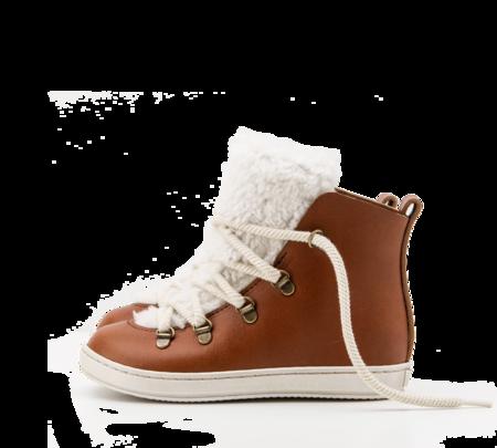 KIDS ZUZII FOOTWEAR SHEARLING BOOTS - HONEY