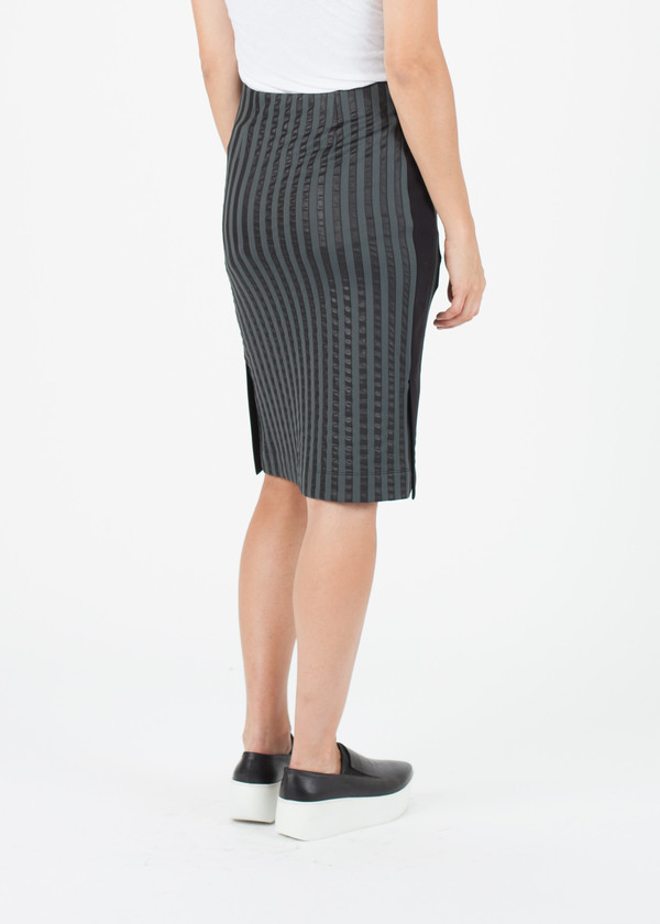 Hache Striped Skirt