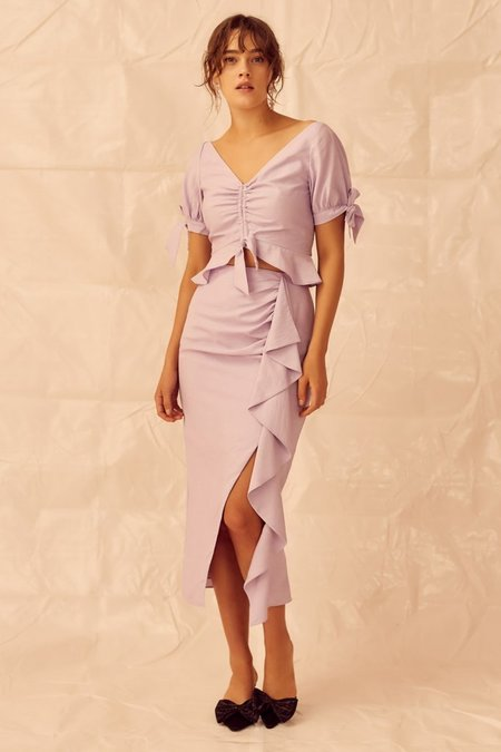 Keepsake Luminous Skirt - Lilac