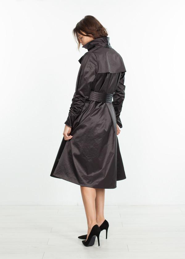 Amelia Toro Trench Coat in Black