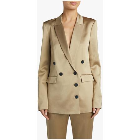 Jason Wu Gold Shine Suiting Jacket - Gold
