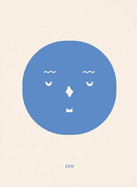 Mado Zen Feeling Print - Blue