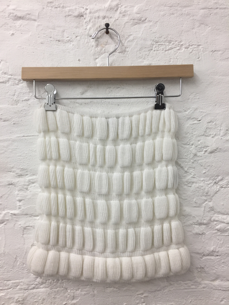 A Détacher Camila Tube Top in White