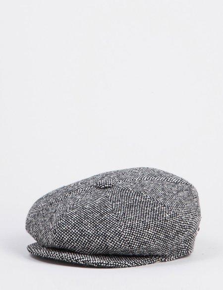 Bailey Hats Galvin Tweed NewsBoy Hat - Black
