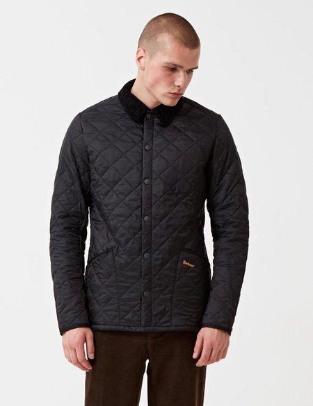 Barbour Heritage Liddesdale Quilted Jacket - Black