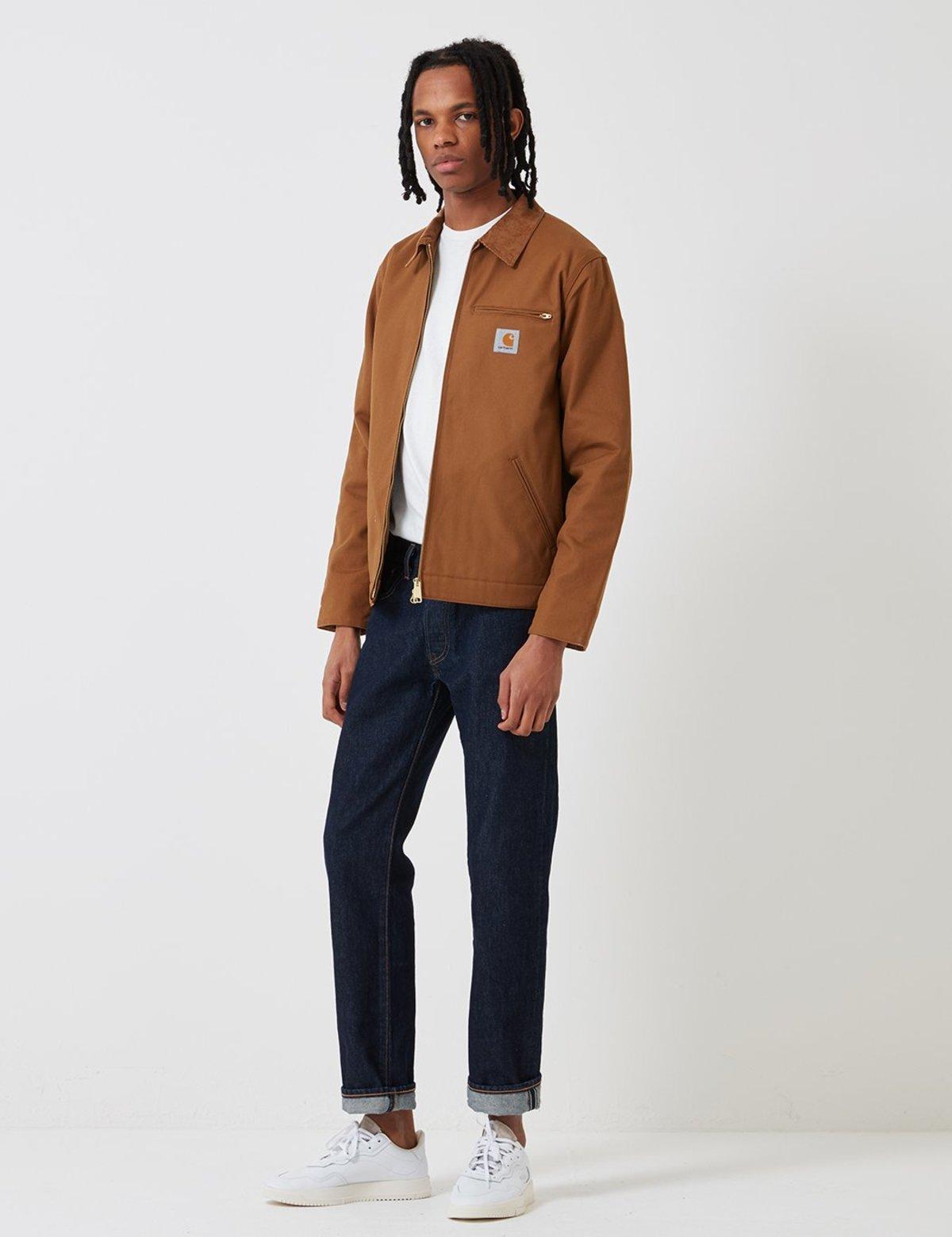 d6097a5652b CARHARTT WIP Detroit Jacket - Hamilton Brown | Garmentory