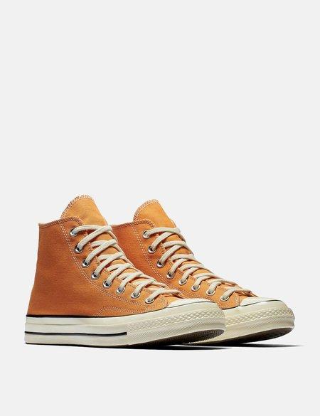 Converse 70's Chuck Canvas Hi 159622C - Tangelo Orange/Black/Egret