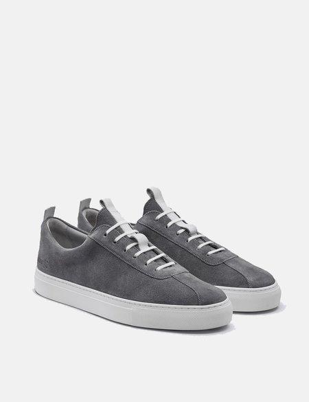 Grenson Suede Sneakers 1 - Ash Grey
