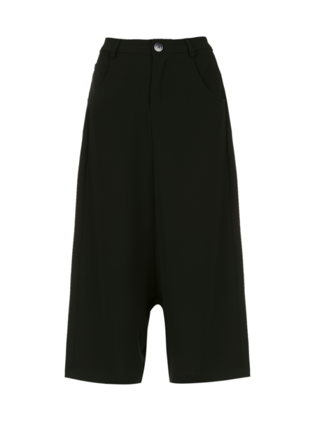 Uma Raquel Davidowicz Pirita Cropped Work Pants - Black