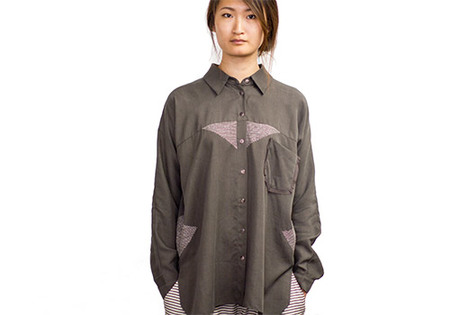 LAURA SIEGEL KANTHA BUTTON UP SHIRT