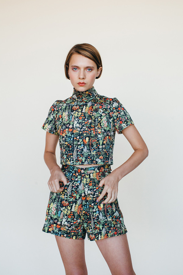 Cadet Shirt - Floral Print