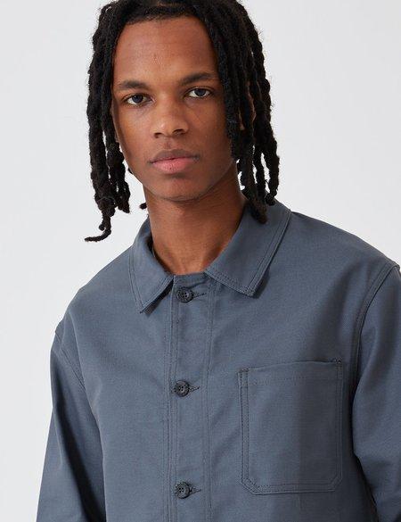 Le Laboureur Cotton Work Jacket - Charcoal Grey