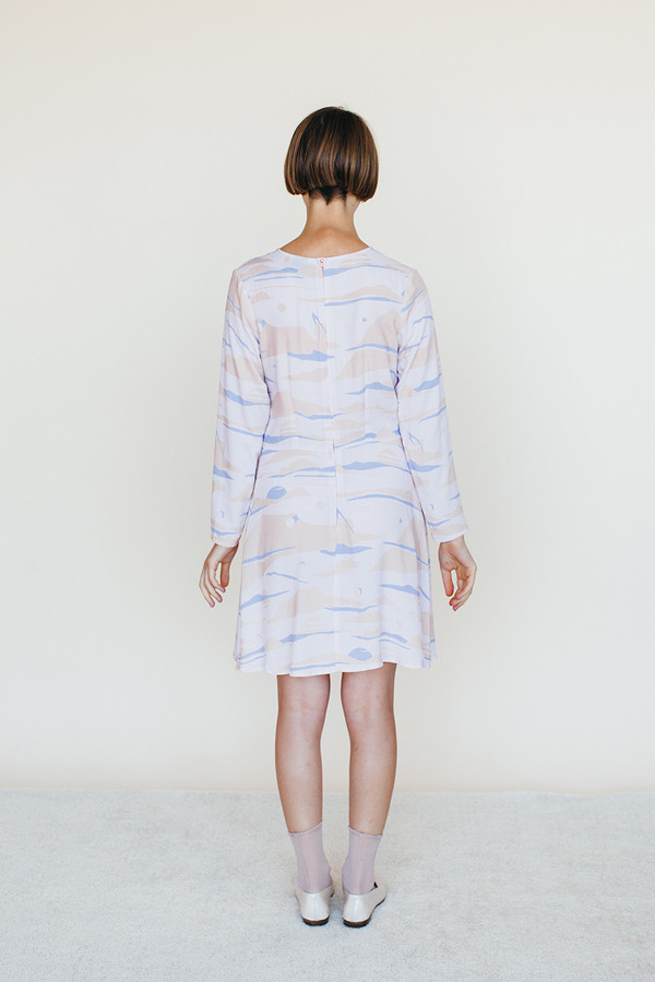 Galactic Dress - Landscape Print