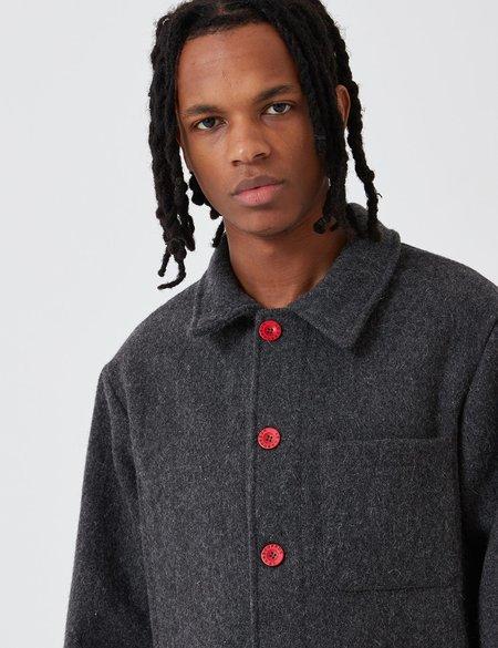 Le Laboureur Wool Work Jacket - Grey