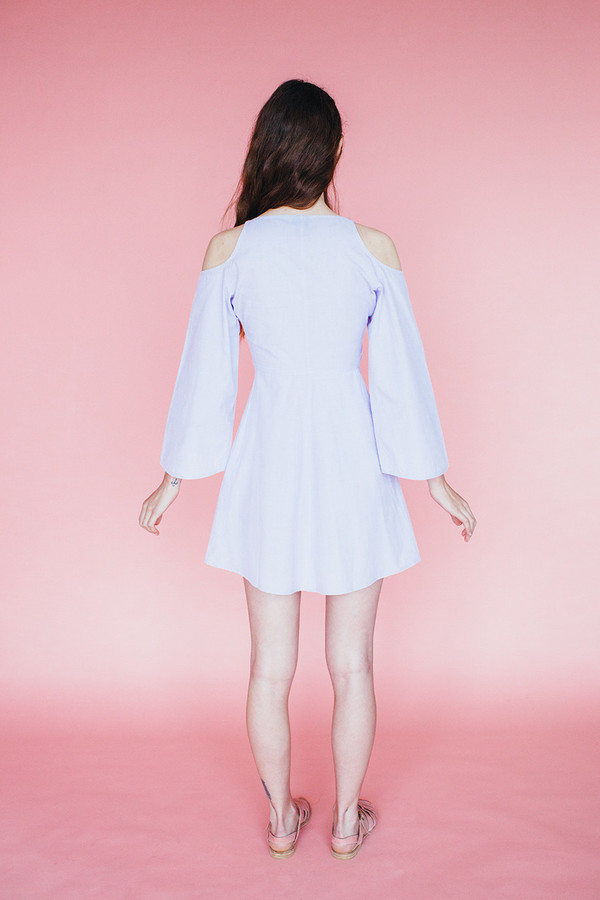 Moon Dress - lavendar
