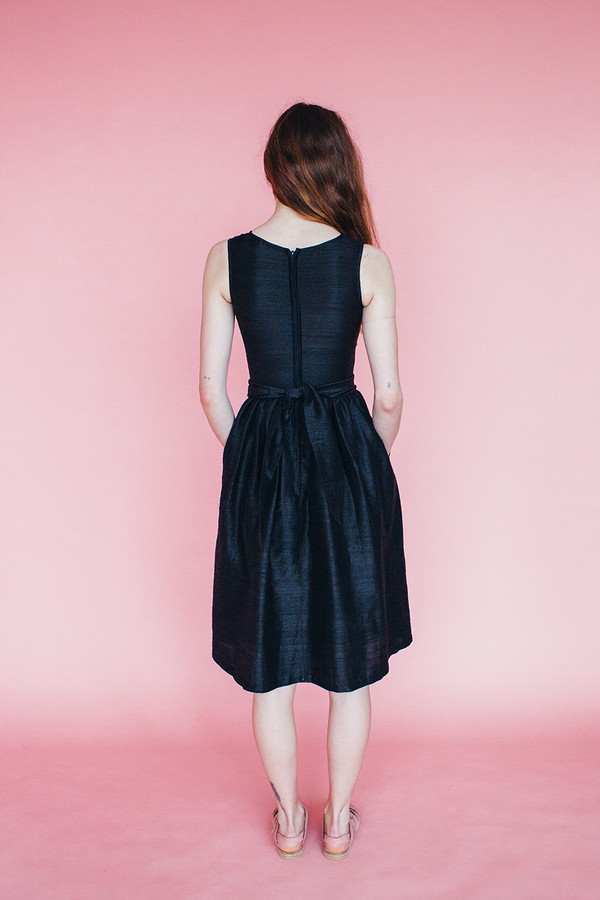 Satyr dress - black