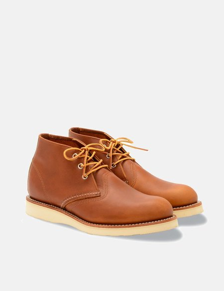 Red Wing Chukka Boots - Tan