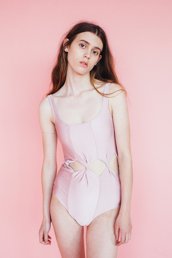 Tabernacle swim suit - rose
