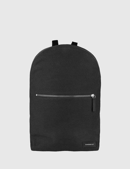Sandqvist Samuel Canvas Backpack - Black