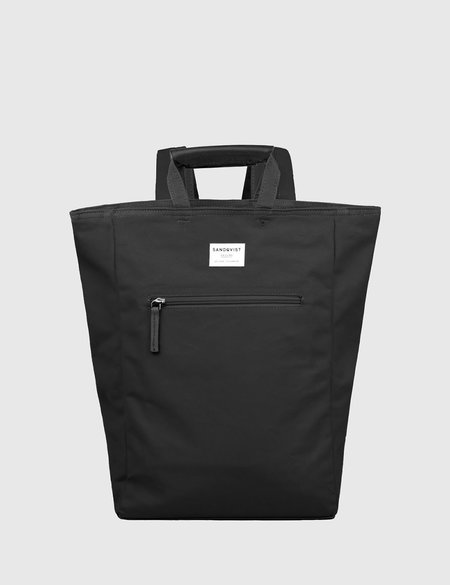 Sandqvist Tony Tote Bag in Canvas - Black
