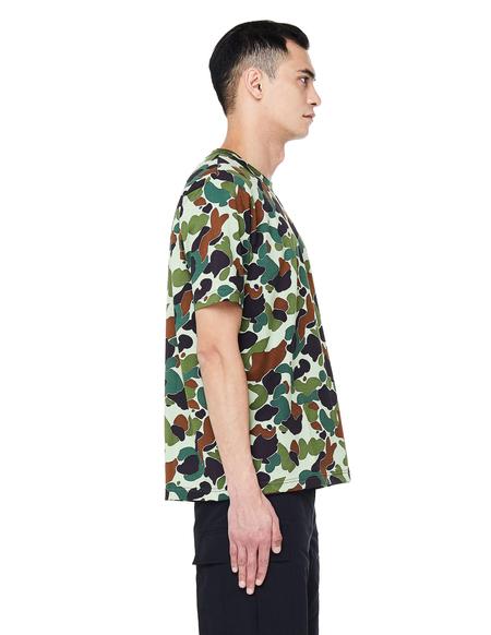 Junya Watanabe T-Shirt - Khaki Camo Print